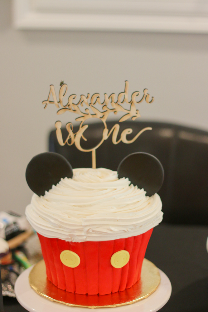 Mickey Mouse Themed 1st Birthday Natalie Say
